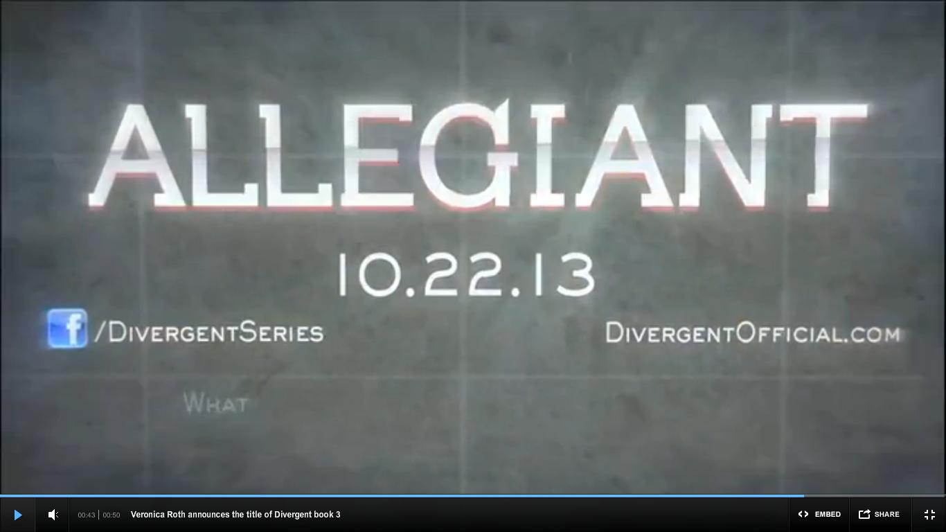 Insurgent release date