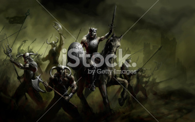stock-photo-19348485-general-leading-his-army-in-war