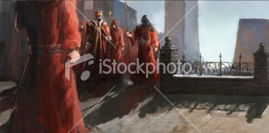 stock-photo-23081113-priest-worriors