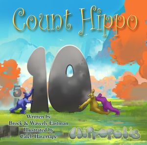 Count Hippo - Front Cover - Paperback - 8-5 x 8-5 - 10-9-2015